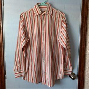 Men Banana Republic Button Up Dress Shirt